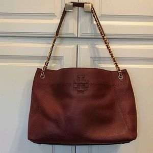 Tory Burch Imperial Mcgraw Chain Slouchy Tote